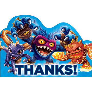 Skylanders Thank You Cards (8 Pack)