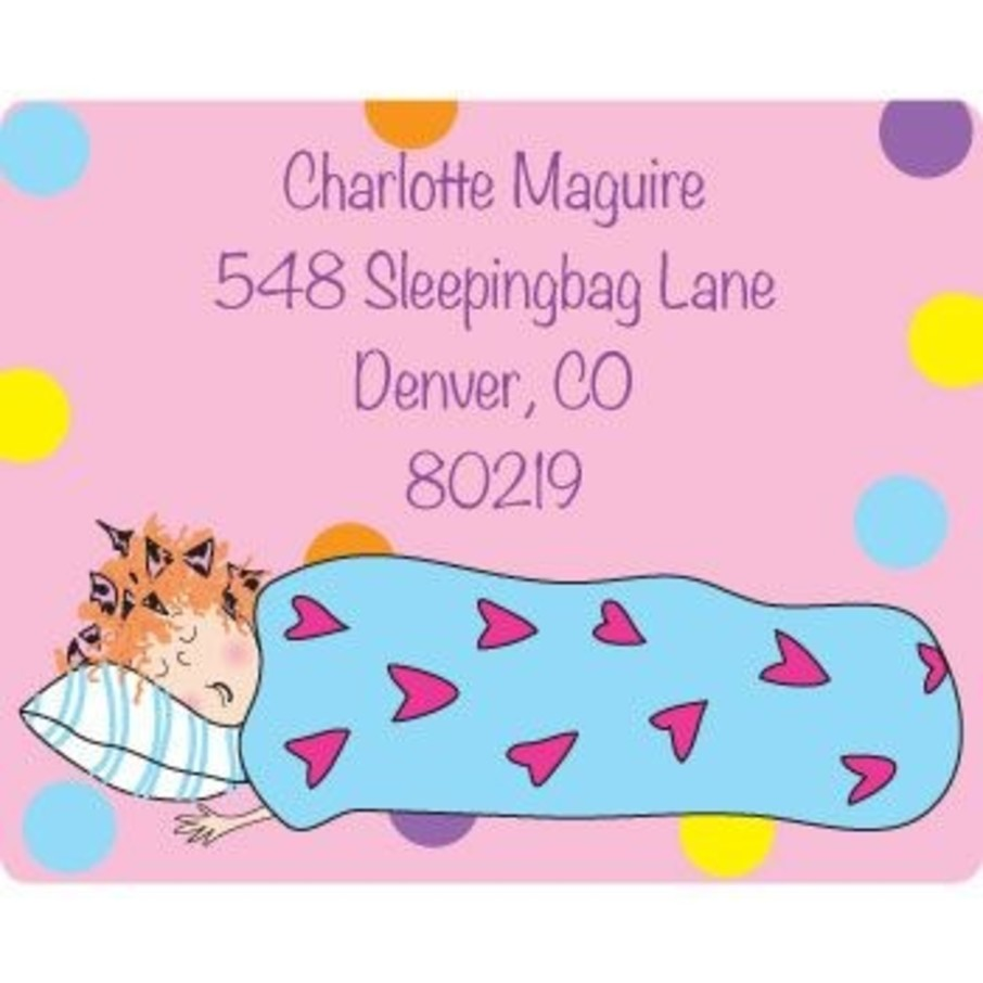 View larger image of Sleepover Personalized Address Labels (sheet of 15)