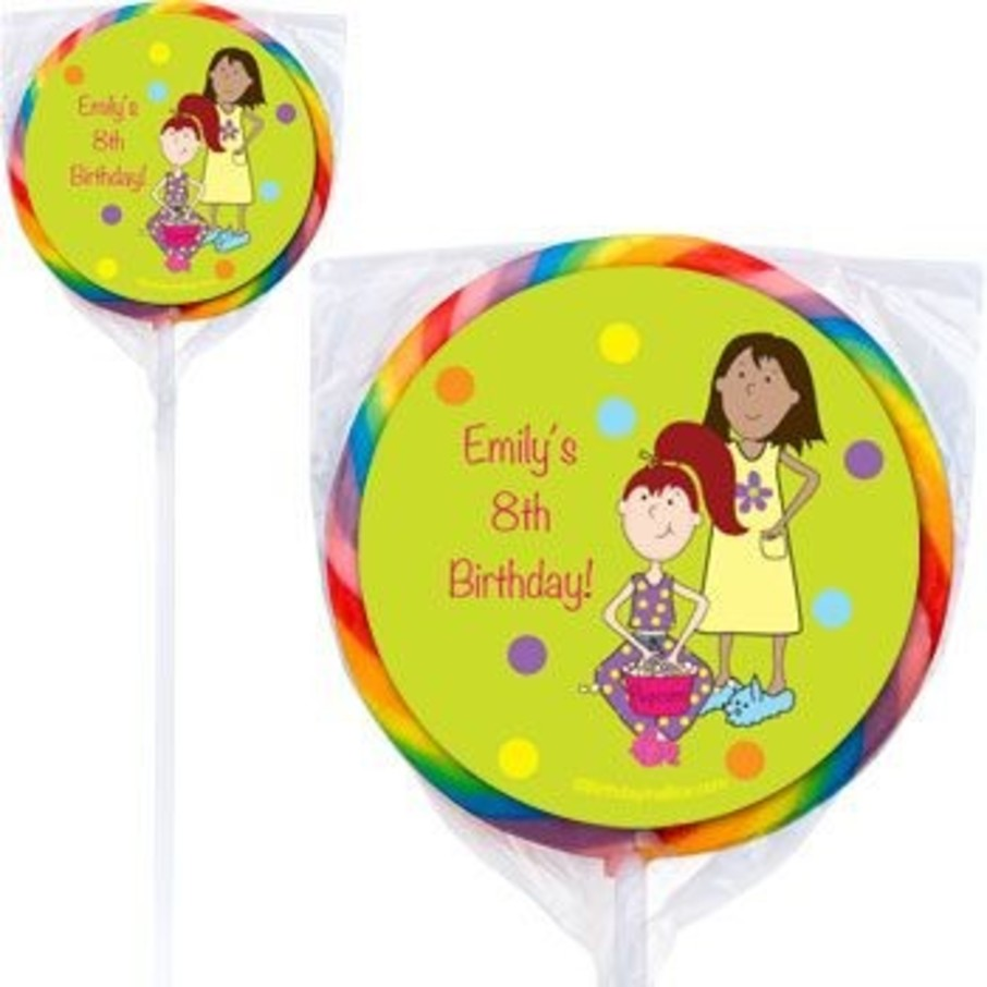 View larger image of Sleepover Personalized Lollipops (pack of 12)