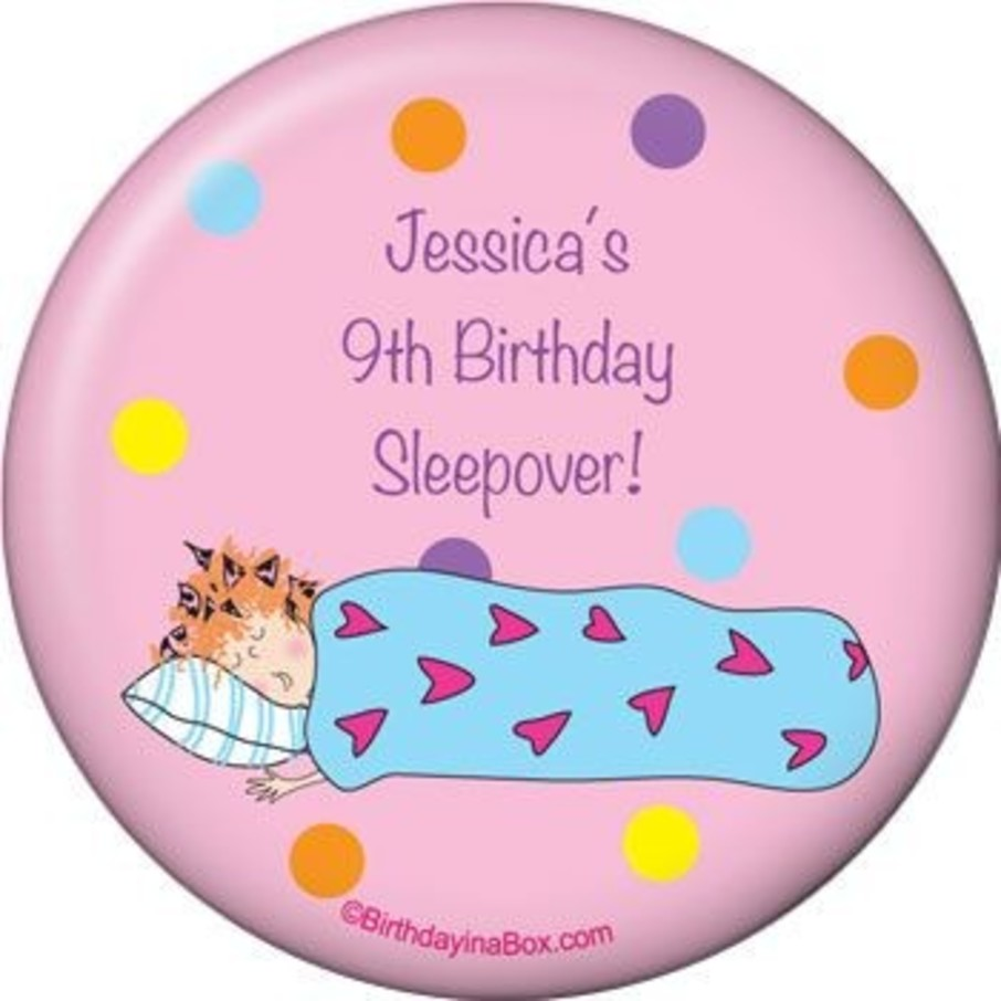 View larger image of Sleepover Personalized Magnet (each)