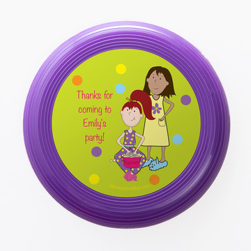 Sleepover Personalized Mini Discs (Set of 12)