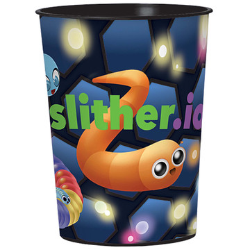 Slither.io Plastic 16oz Favor Cup (1)