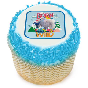 Small Foot Edible Cupcake Topper (12 Images)
