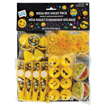 Smiley Favor Pack (48 Pieces)