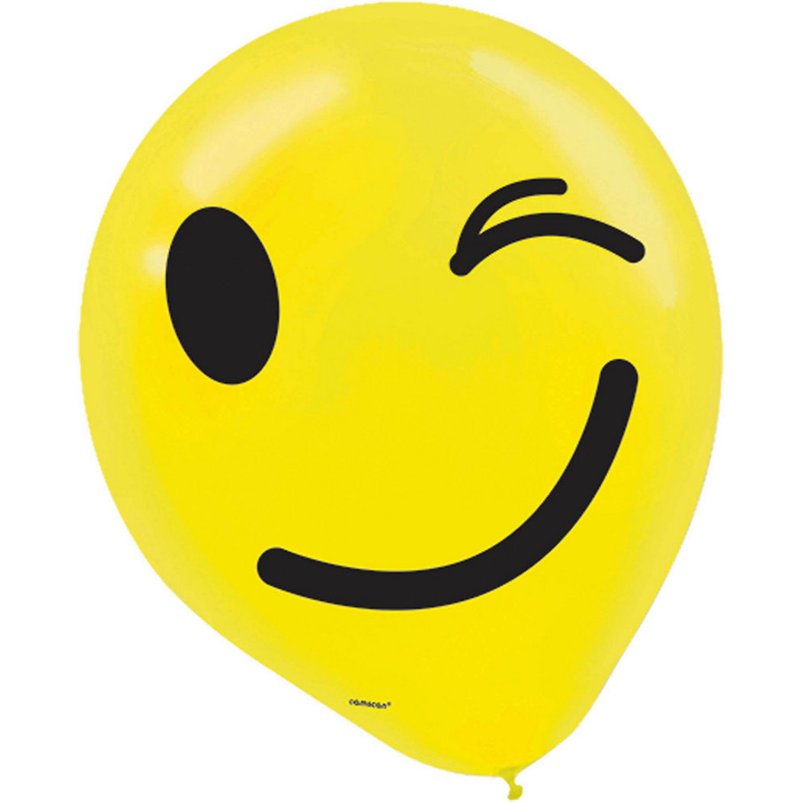 View larger image of Smiley Latex Balloons (6)