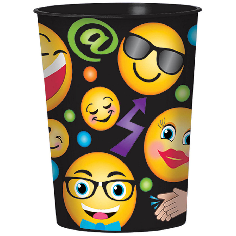 View larger image of Smiley Plastic 16oz Favor Cup (1)