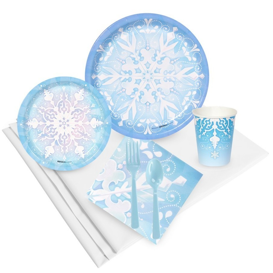 View larger image of Snowflake Winter Wonderland Party Pack (24)