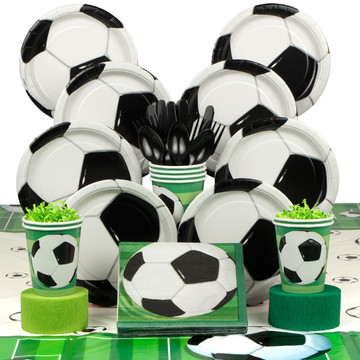 Soccer Party Deluxe Kit (Serves 8)