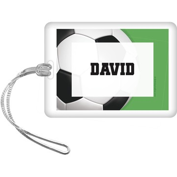 Soccer Party Personalized Bag Tag (each)