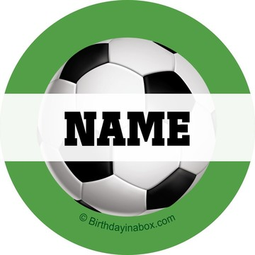 Soccer Party Personalized Mini Stickers (Sheet of 24)