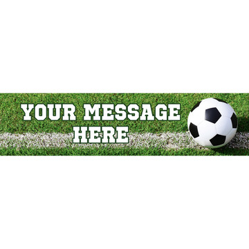 Soccer Personalized Banner (Each)