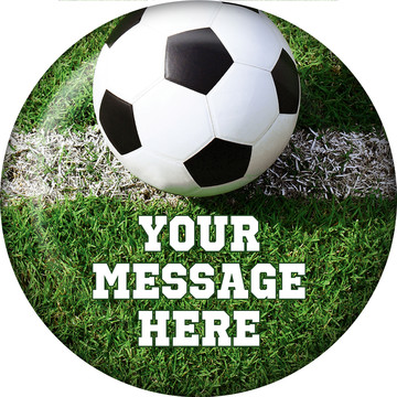 Soccer Personalized Magnet (Each)