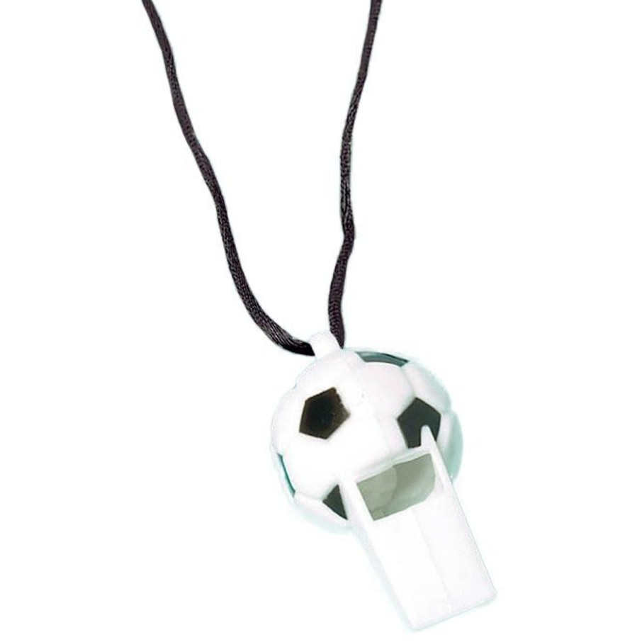 View larger image of Soccer Whistle Favors (12 Pack)