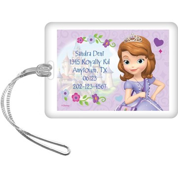 Sofia Personalized Luggage Tag (Each)