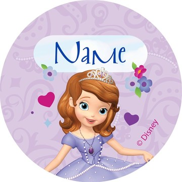 Sofia Personalized Mini Stickers (Sheet of 24)