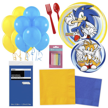 Sonic Party Essentials Kit, Serves 16