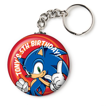 "Sonic Personalized 2.25"" Key Chain (Each)"