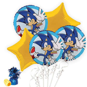 Sonic the Hedgehog Balloon Bouquet Kit