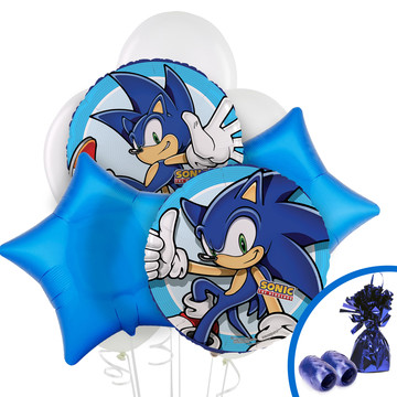 Sonic the Hedgehog Balloon Bouquet