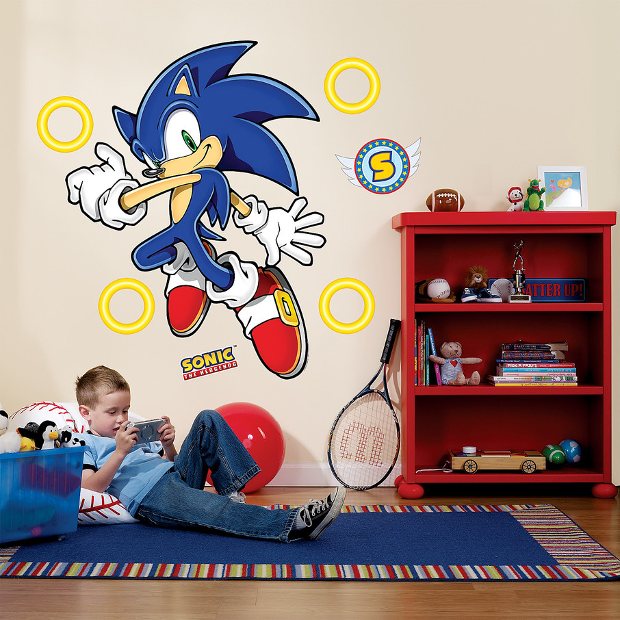 View larger image of Sonic the Hedgehog Giant Wall Decals