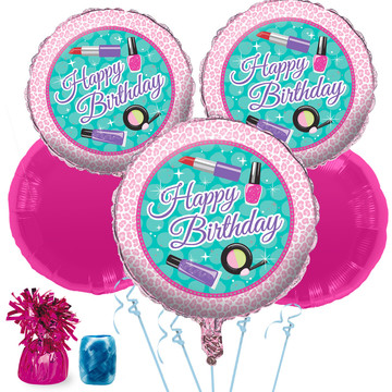 Spa Birthday Balloon Bouquet Kit