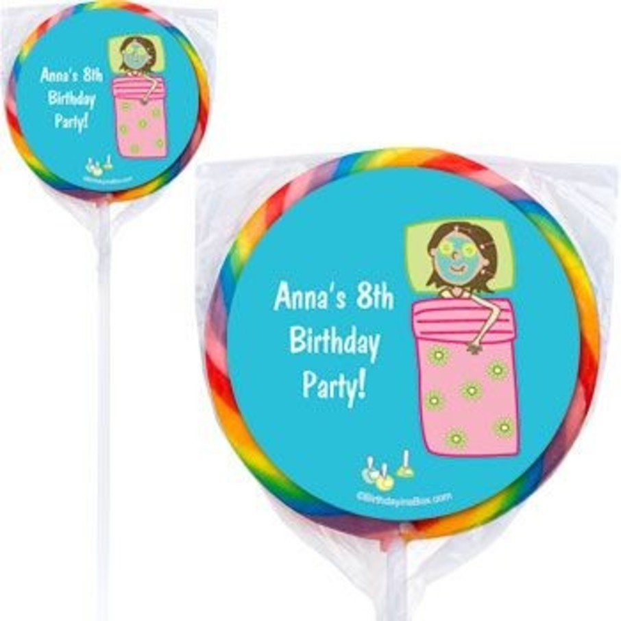 View larger image of Spa Day Personalized Lollipops (pack of 12)