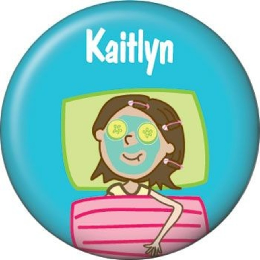 View larger image of Spa Day Personalized Mini Button (each)