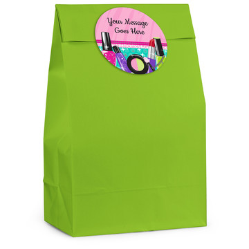 Spa Party Personalized Favor Bag (12 Pack)