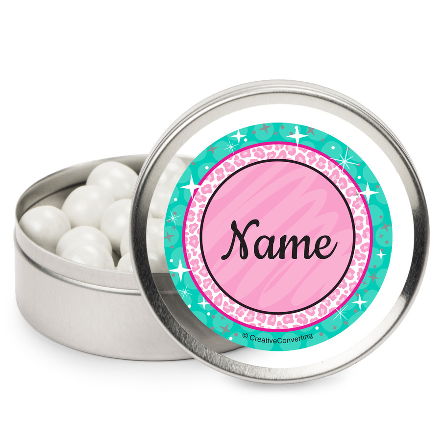 View larger image of Spa Party Personalized Mint Tins (12 Pack)