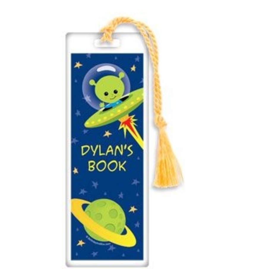 View larger image of Space Alien Personalized Bookmark (each)