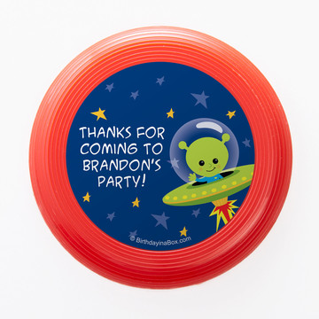 Space Alien Personalized Mini Discs (Set of 12)