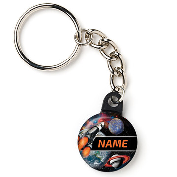 """Space Blast Personalized 1"""" Carabiner (Each)"""