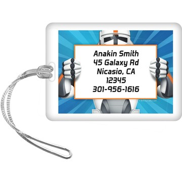 Space Clone Personalized Luggage Tag (each)