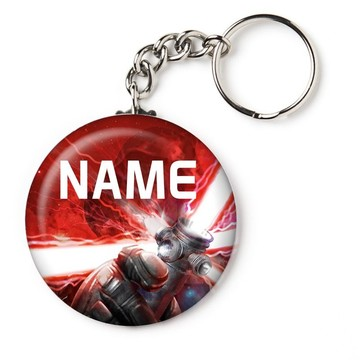 """Space Force Personalized 2.25"""" Key Chain (Each)"""