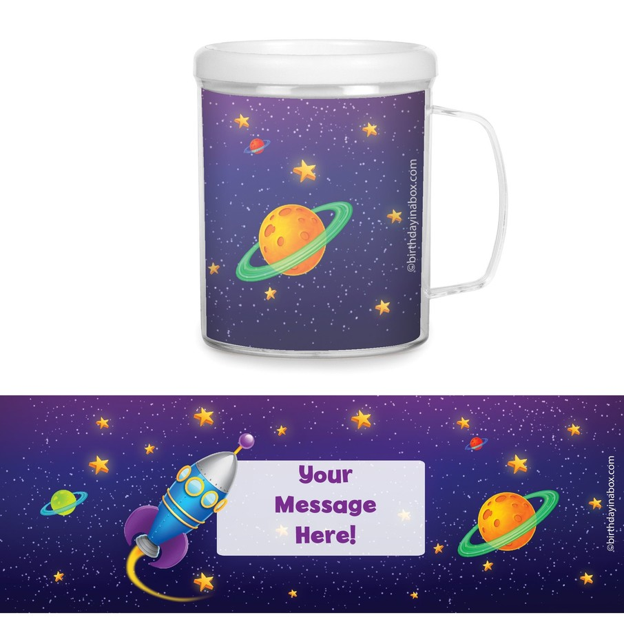 View larger image of Space Personalized Favor Mugs (Each)