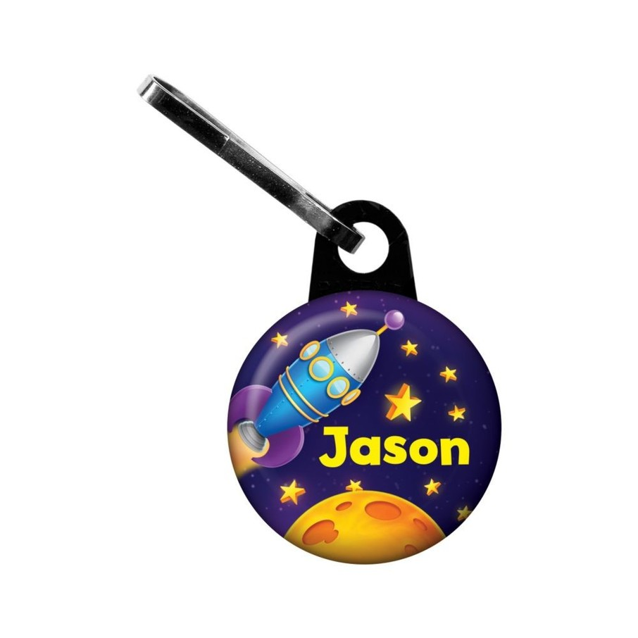 View larger image of Space Personalized Mini Zipper Pull (Each)