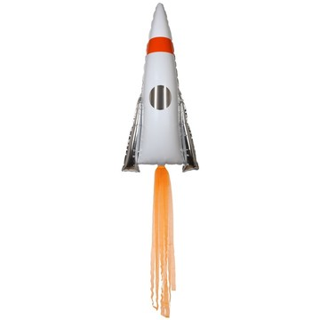 Space Rocket Jumbo Foil Balloon (1)