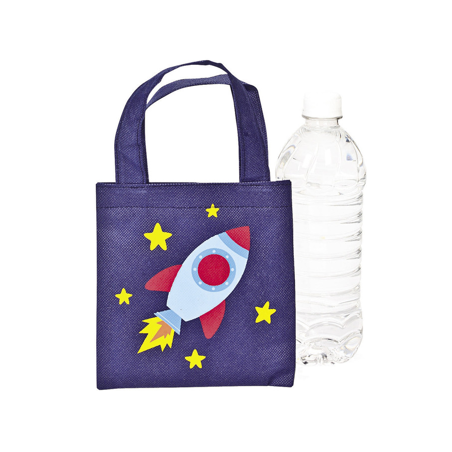 View larger image of Space Ship Mini Tote Bags (12)