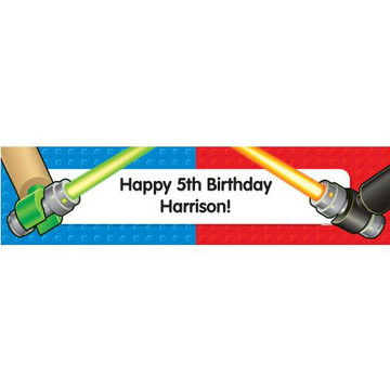 Space Toys Personalized Banner (each)
