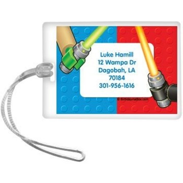 Space Toys Personalized Luggage Tag (each)