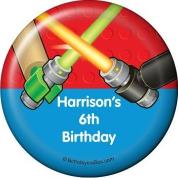 Space Toys Personalized Magnet (each)