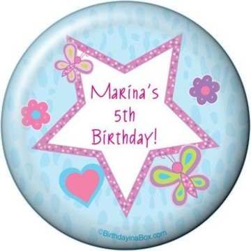 Sparkle Butterfly Personalized Magnet (each)