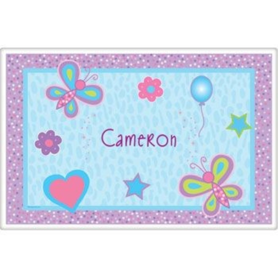 View larger image of Sparkle Butterfly Personalized Placemat (each)