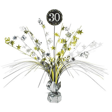 Sparkling Celebration 30th Birthday Spray Centerpiece (1)
