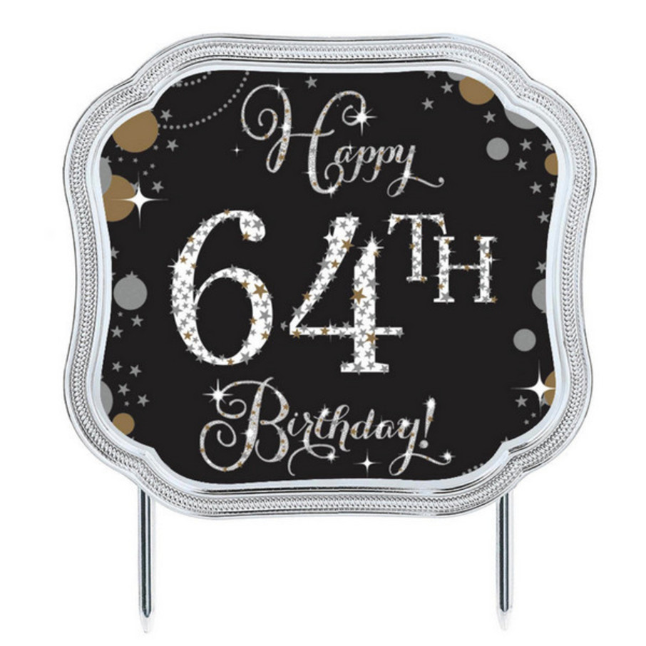 View larger image of Sparkling Celebration Add-any-Age Cake Topper