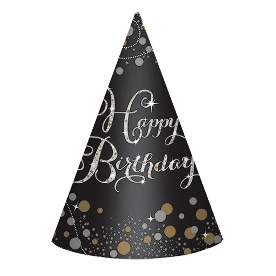 View larger image of Sparkling Celebration Birthday Party Hats (8)
