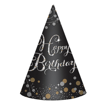 Sparkling Celebration Birthday Party Hats (8)