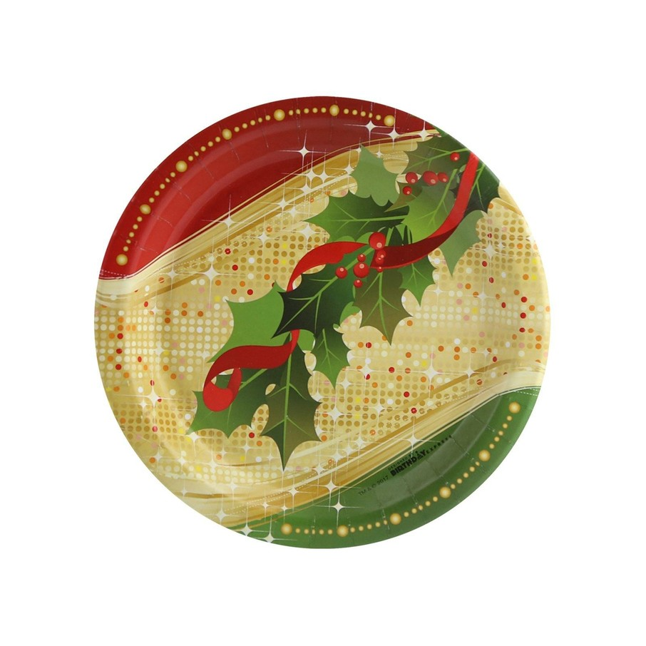View larger image of Sparkling Christmas Dessert Plate (8)
