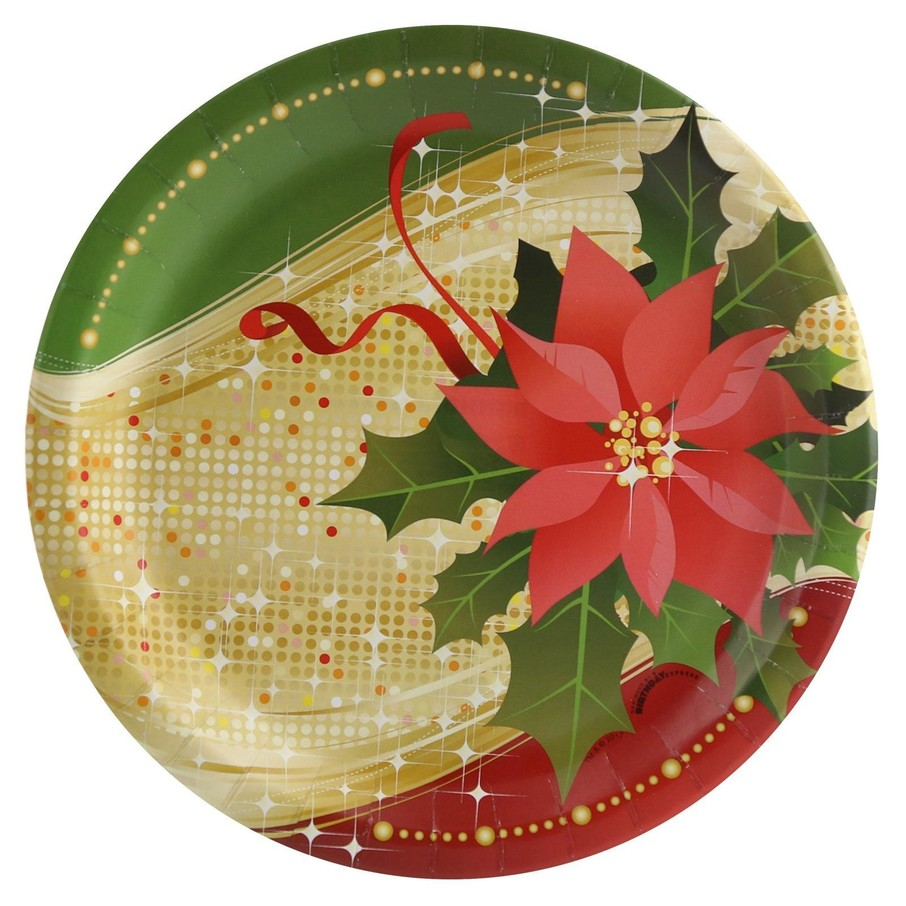 View larger image of Sparkling Christmas Dinner Plate (8)