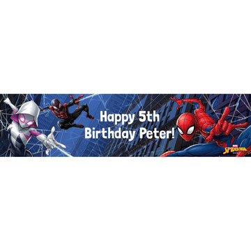 Spider-Man Personalized Banner (Each)